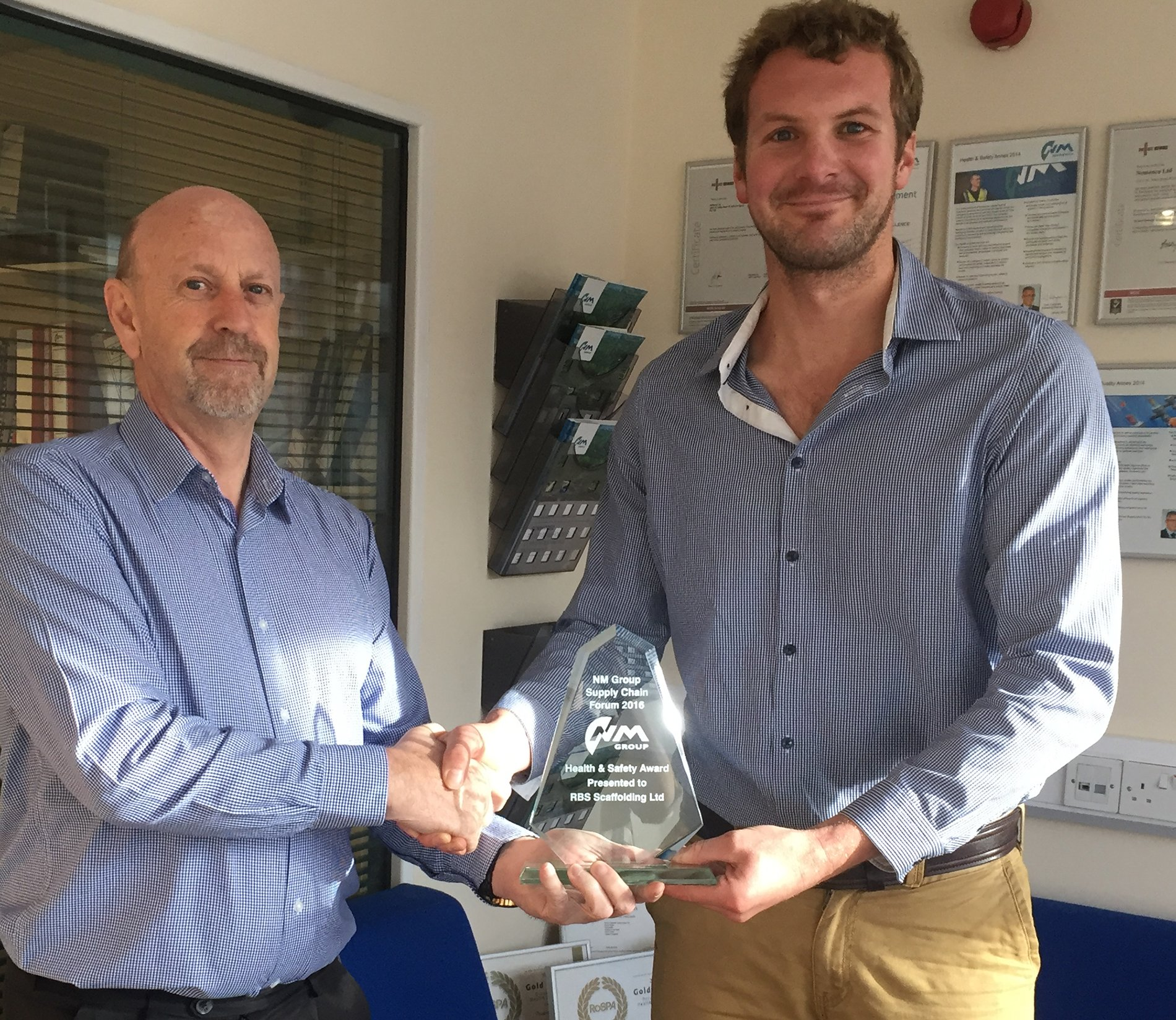 Award Winning Devon scaffolding company