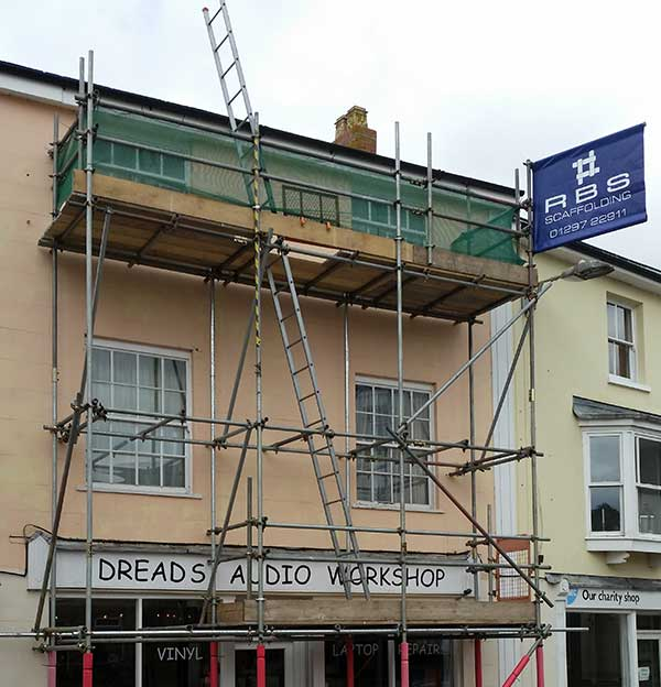 Commercial Scaffolding Services Devon