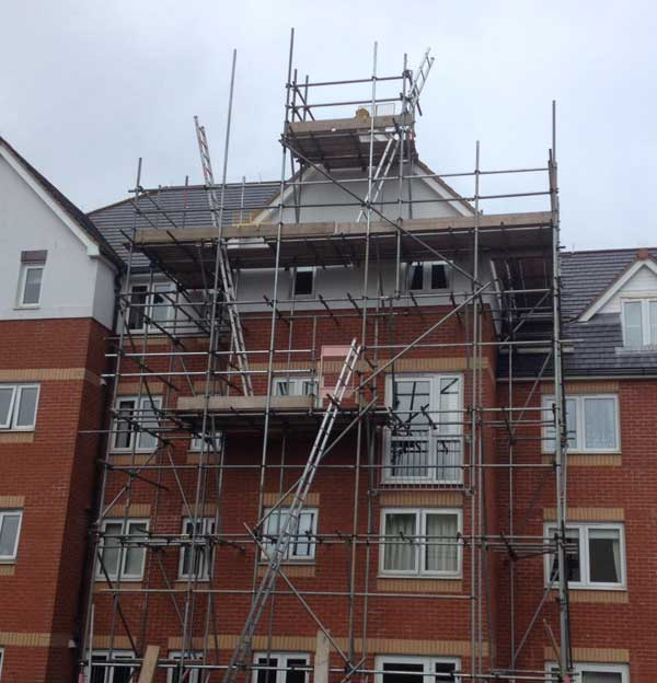 Devon commercial scaffolding services
