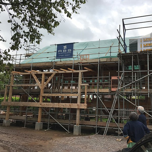 Scaffolding for New build Projects