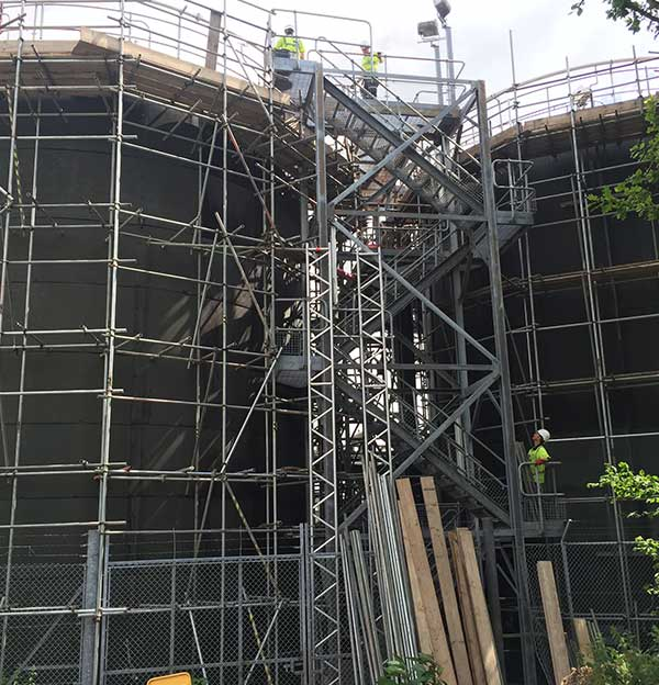 Confined Spaces Devon Scaffolding Services
